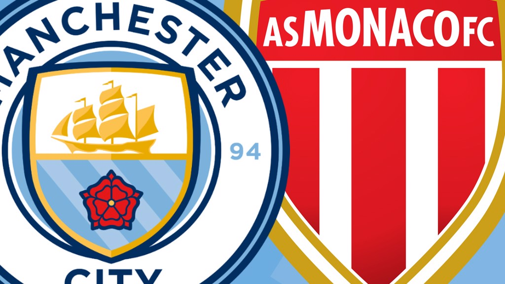 Man City v Monaco Live Match Coverage