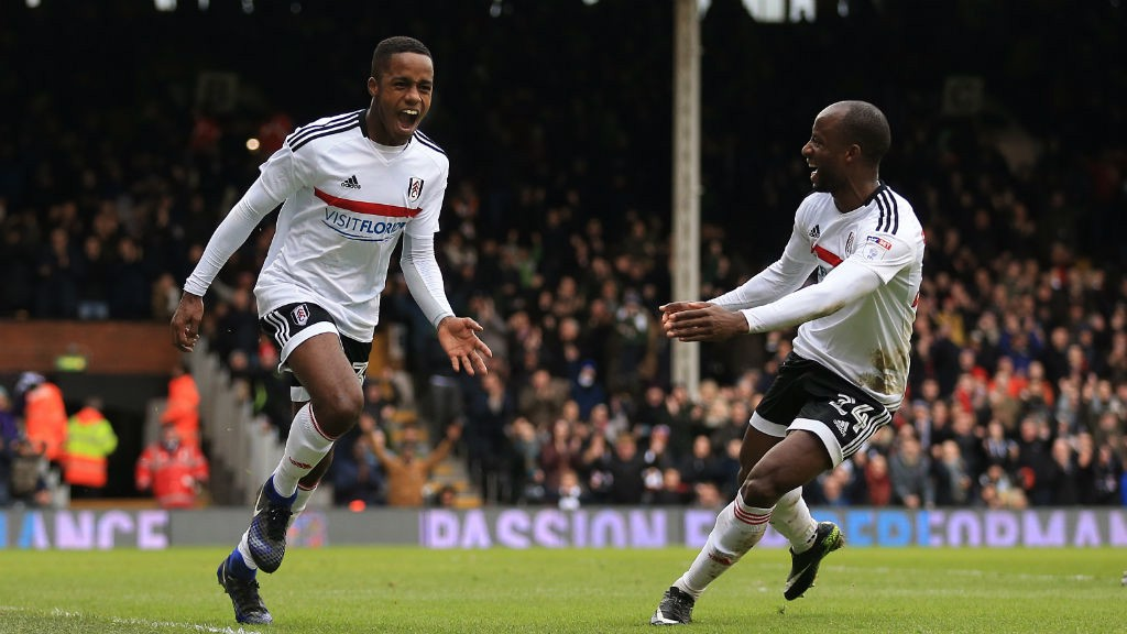 YOUNGSTER: Ryan Sessegnon celebrates his goal against Hull City in this year's FA Cup