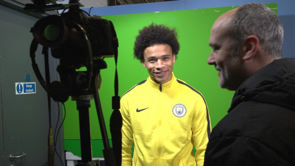 SMILING SANE: Leroy Sane speaks to CityTV after the game