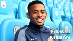 INSIDE CITY: Go behind-the-scenes as Gabriel Jesus checks out his new surroundings