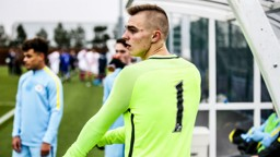 SOKOL: City's goalkeeper has enjoyed his time in Manchester City colours so far