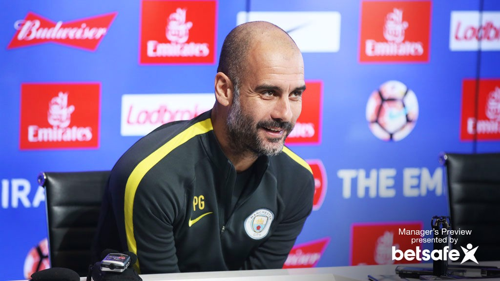 Guardiola looking forward to 'fascinating' FA Cup