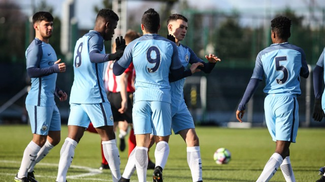 DYNAMIC YOUNGSTERS: City's U18s travelled to Wolves looking to continue their excellent Premier League form