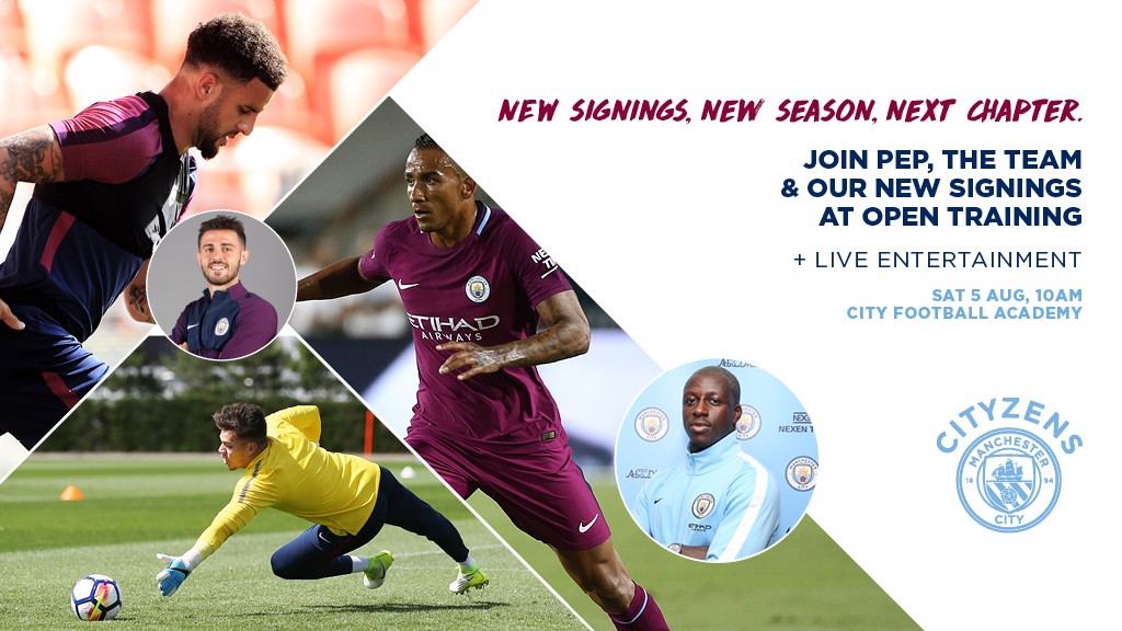 CITYZENS SATURDAY: New signings, new season, new chapter.