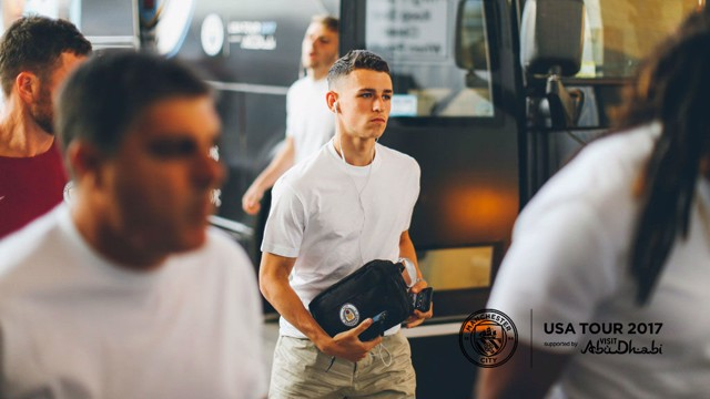 DREAM DEBUT: City's man of the match Phil Foden says making his Blues bow in Houston was 'a dream come true'