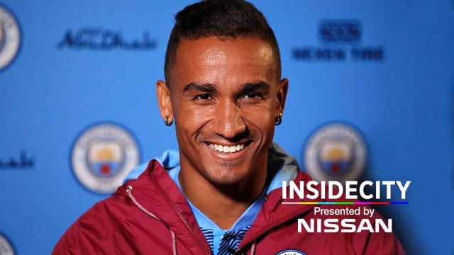 ACTION STATIONS: New Man City arrival Danilo