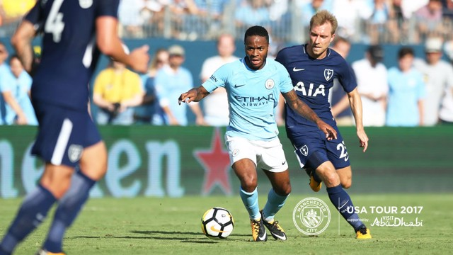 Image result for pep guardiola city 3-0 spurs nashville