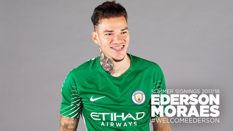 Ederson can't wait for City adventure to start
