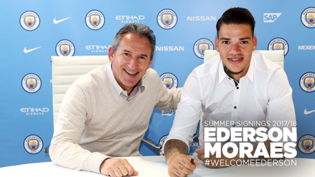 Ederson to join Manchester City