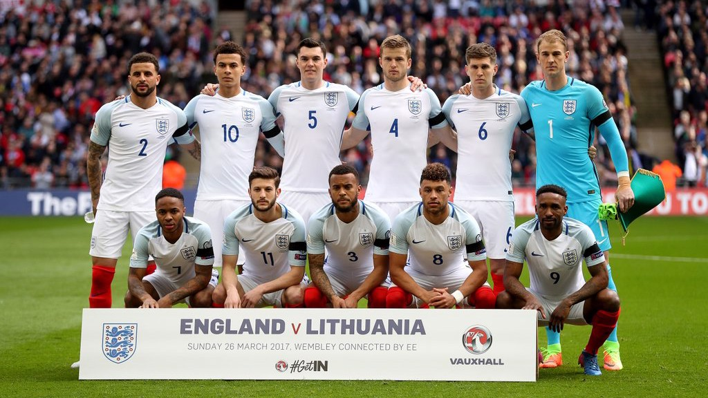 LINE-UP: England v Lithuania