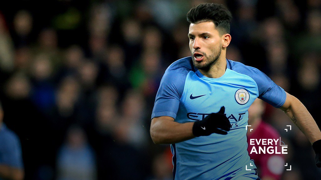 AGUERO: From every angle