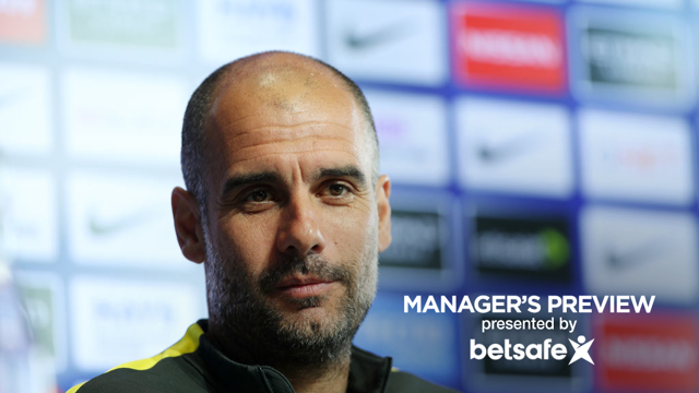MANAGER'S PREVIEW: Arsenal v Manchester City press conference part one.