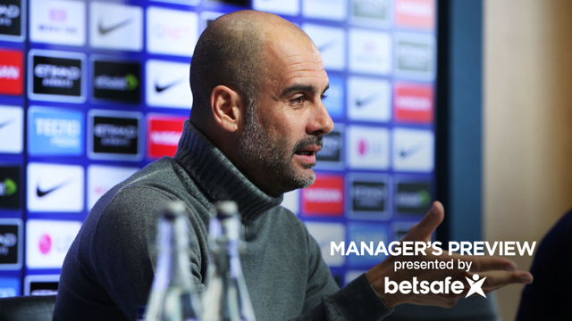 MANCHESTER CITY V LIVERPOOL: Pep Guardiola press conference pt 2