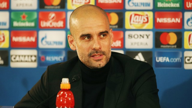 PRESS CONFERENCE: Pep Guardiola addresses the media ahead of Monaco v City