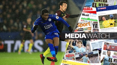 Media watch: Foxes defender admires City quality