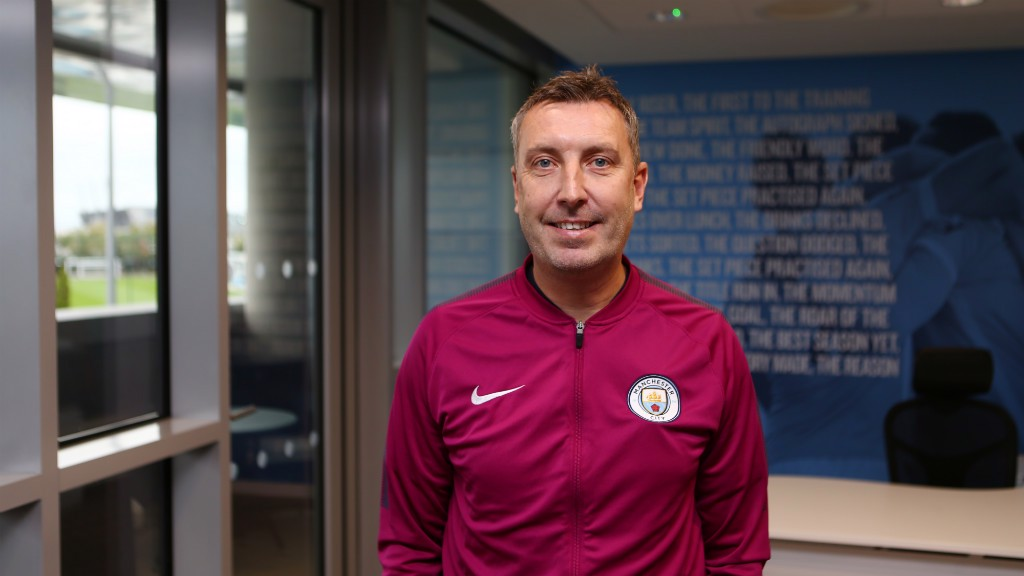 APPOINTMENT: Jason Wilcox is Manchester City's new Academy Director.