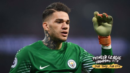 Ederson reflects on his 'near-perfect' year