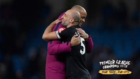 Zaba leads tributes for the champions