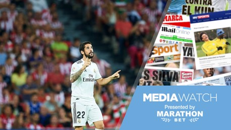 Media Watch: Isco ready to accept City deal?  