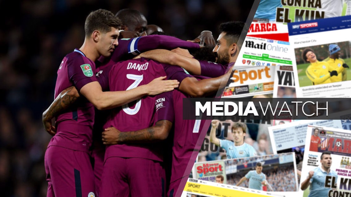 "Media: ""City the best in every department"""