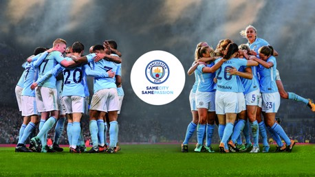 Manchester City launch Same City, Same Passion