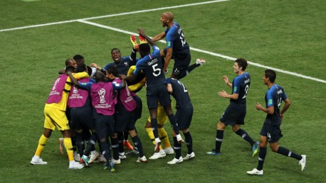 France win World Cup with victory over Croatia