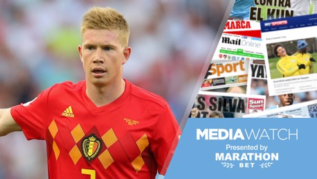 Media Watch: 'De Bruyne is a joy to watch'
