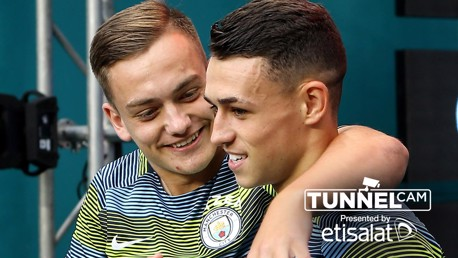 US TOUR 2018: Take a look at what went on in the tunnel during City's win over Bayern Munich