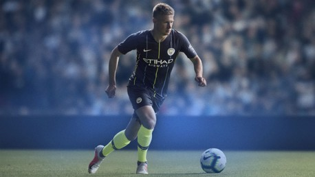 Manchester City unveil 2018-19 away kit