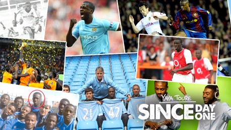 THANK YOU YAYA: Toure takes a look back over his time at City