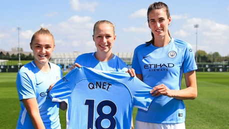 City and QNET team up for sleeve partnership