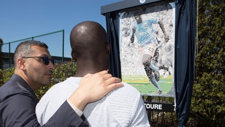Yaya Toure plaque unveiled at CFA