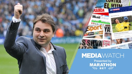Media Watch: Kinkladze's City wish