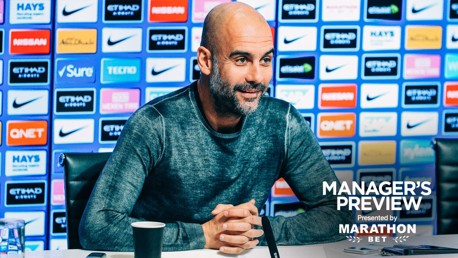 BOXING DAY: Pep previews our game at Leicester City