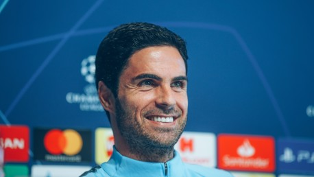 Arteta: City have the best players in the world  
