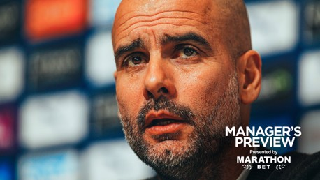 MEDIA BRIEFING: Pep Guardiola speaks before City's game at Burnley.
