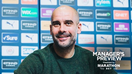 PRE-MATCH: Pep Guardiola addresses the media ahead of Chelsea.