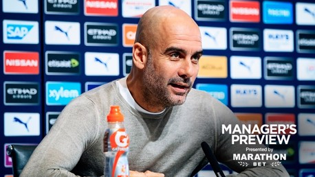 'We are only focused on our own results' says Pep
