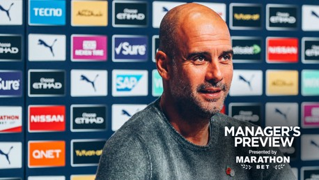 PREVIEW: Pep Guardiola speaks to the media ahead of Southampton.
