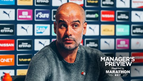 TEAM NEWS: Pep Guardiola provides an update ahead of Southampton.