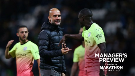 MOVING FORWARD: Pep Guardiola believes Benjamin Mendy will show City fans his best form.