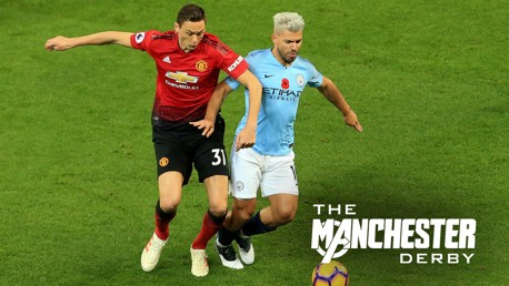 Which TV channel is Man United v City on?