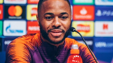 Sterling: Pep keeps us on our toes!