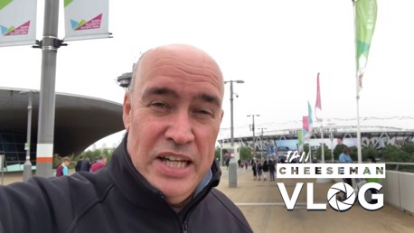 ON THE ROAD: Ian Cheeseman at West Ham.