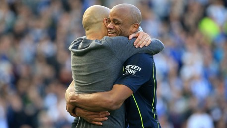 Managers revealed for Kompany's testimonial