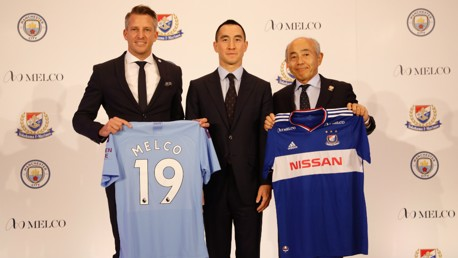 City announce partnership with Melco