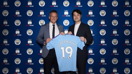 City announce Superbloke partnership