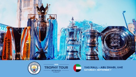 Trophy Tour is coming to the UAE