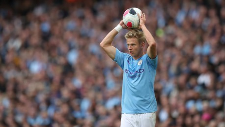 Performance levels pleasing Zinchenko