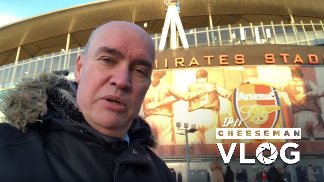 Arsenal 0-3 City: Cheeseman Vlog